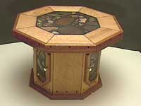 Octagonal Coffee Tables - Birdseye Maple